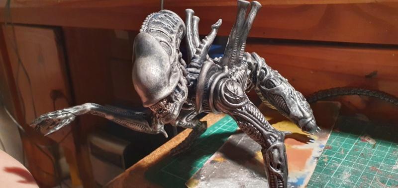 Alien aus dem Game Alien vs Predator von 2010, 1:6 Elfin Models 20210409