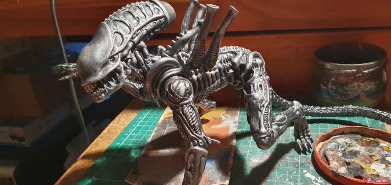 Alien aus dem Game Alien vs Predator von 2010, 1:6 Elfin Models 20210410