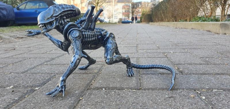 Alien aus dem Game Alien vs Predator von 2010, 1:6 Elfin Models 20210414