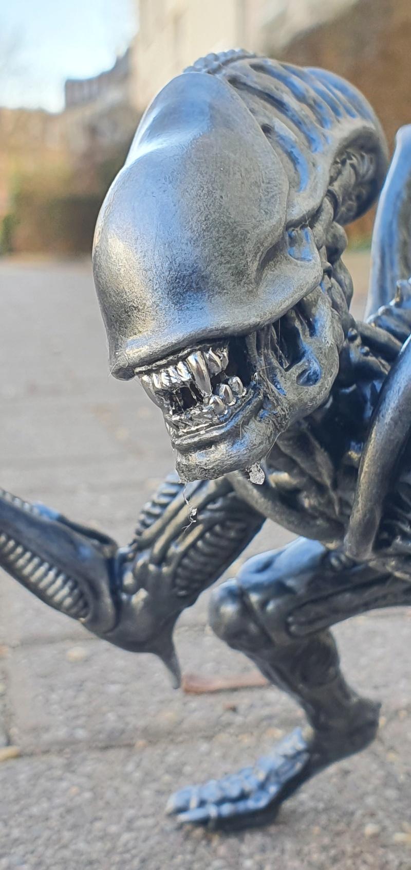 Alien aus dem Game Alien vs Predator von 2010, 1:6 Elfin Models 20210415