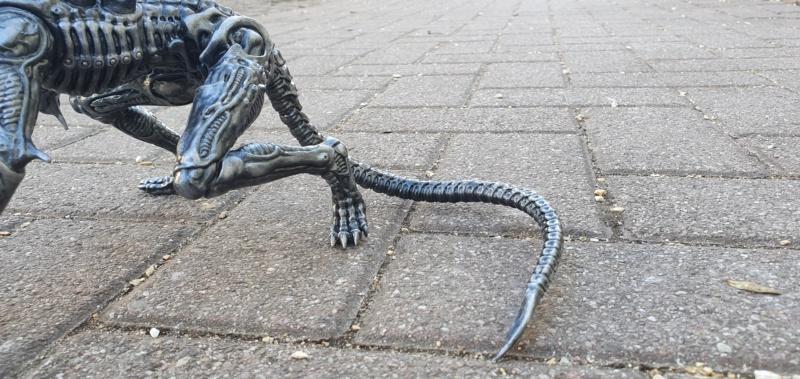 Alien aus dem Game Alien vs Predator von 2010, 1:6 Elfin Models 20210417