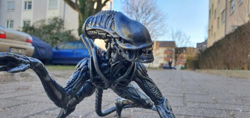 Alien aus dem Game Alien vs Predator von 2010, 1:6 Elfin Models 20210418