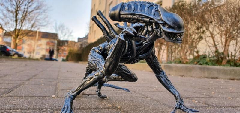 Alien aus dem Game Alien vs Predator von 2010, 1:6 Elfin Models 20210419