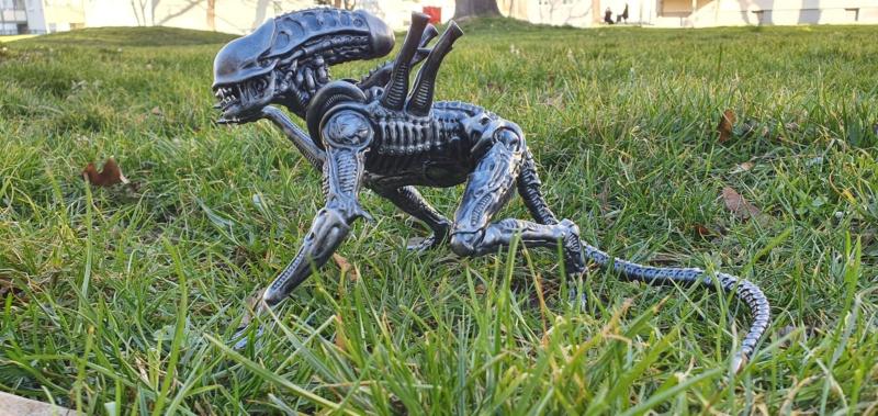 Alien aus dem Game Alien vs Predator von 2010, 1:6 Elfin Models 20210422