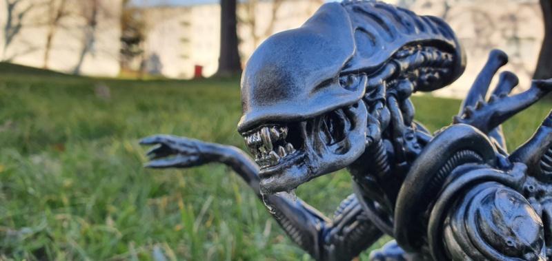 Alien aus dem Game Alien vs Predator von 2010, 1:6 Elfin Models 20210423