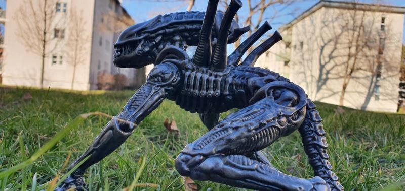 Alien aus dem Game Alien vs Predator von 2010, 1:6 Elfin Models 20210424