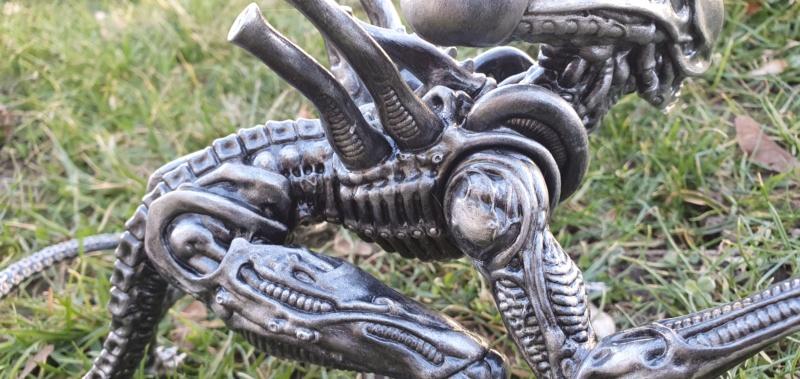 Alien aus dem Game Alien vs Predator von 2010, 1:6 Elfin Models 20210427