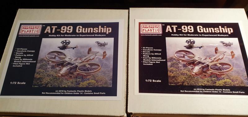 "AT-99 ""Skorpion"" Gunship aus Avatar, 1:72 von Fantastic Plastic 20210477"