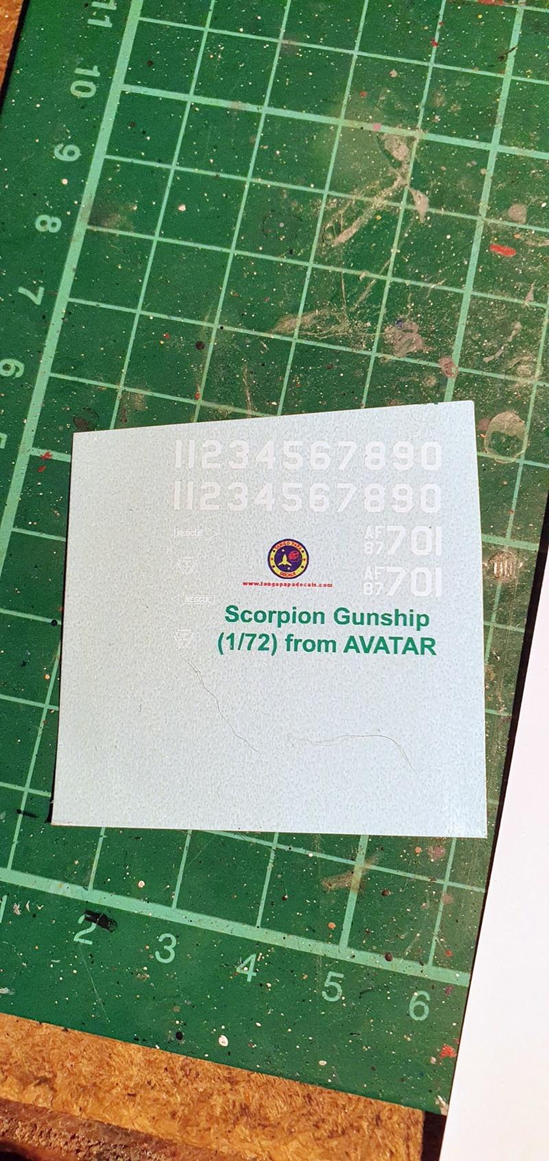 "AT-99 ""Skorpion"" Gunship aus Avatar, 1:72 von Fantastic Plastic 20210481"
