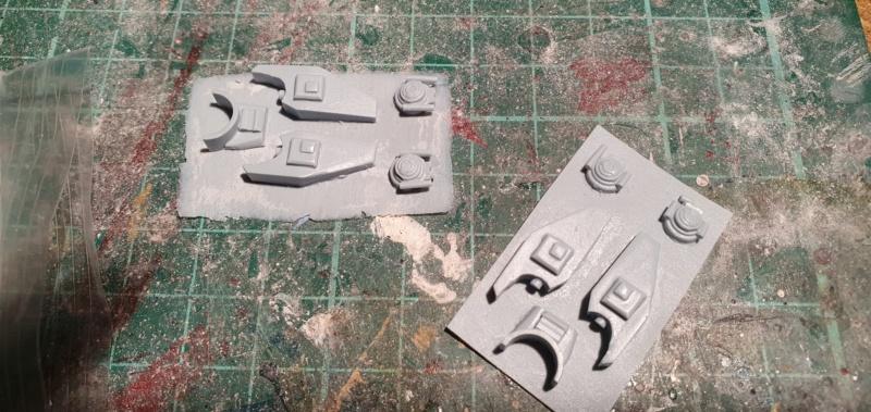 """Zwei AT-99 """"Skorpion"""" Gunships aus Avatar, 1:72 von Fantastic Plastic 20210549"""