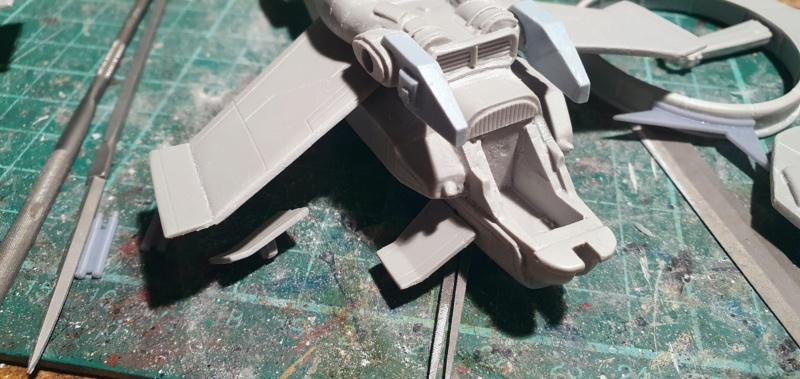 """Zwei AT-99 """"Skorpion"""" Gunships aus Avatar, 1:72 von Fantastic Plastic 20210562"""