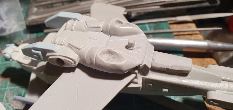 """Zwei AT-99 """"Skorpion"""" Gunships aus Avatar, 1:72 von Fantastic Plastic 20210591"""