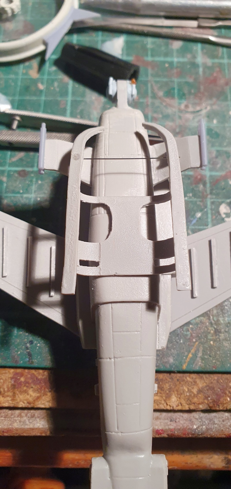 """Zwei AT-99 """"Skorpion"""" Gunships aus Avatar, 1:72 von Fantastic Plastic 20210603"""