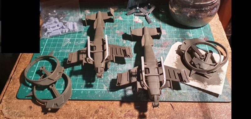 """Zwei AT-99 """"Skorpion"""" Gunships aus Avatar, 1:72 von Fantastic Plastic - Seite 2 20210701"""
