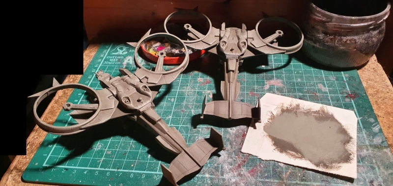 """Zwei AT-99 """"Skorpion"""" Gunships aus Avatar, 1:72 von Fantastic Plastic - Seite 2 20210709"""