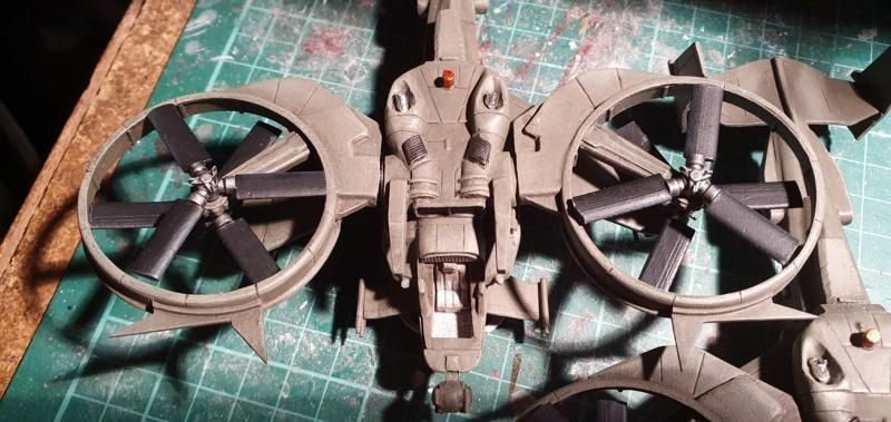 """Zwei AT-99 """"Skorpion"""" Gunships aus Avatar, 1:72 von Fantastic Plastic - Seite 2 20210731"""