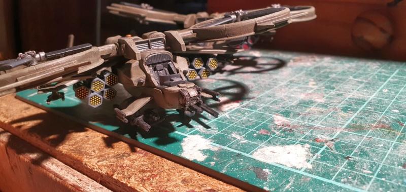 """Zwei AT-99 """"Skorpion"""" Gunships aus Avatar, 1:72 von Fantastic Plastic - Seite 2 20210797"""