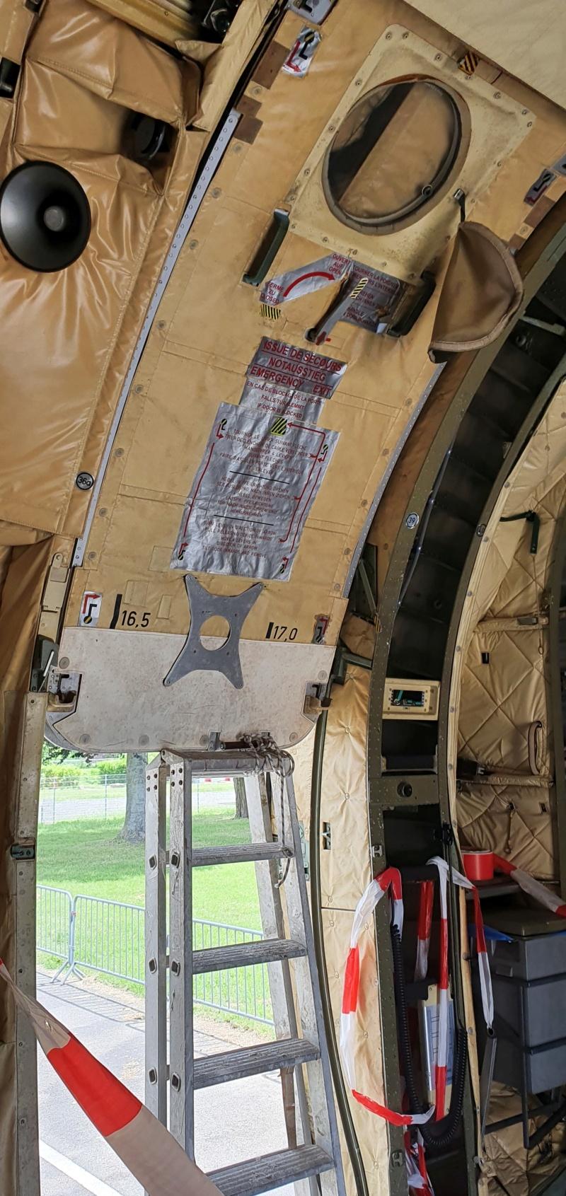 Transall C160 50+99 vom LTG 61 im Technikmuseum Speyer 20210819