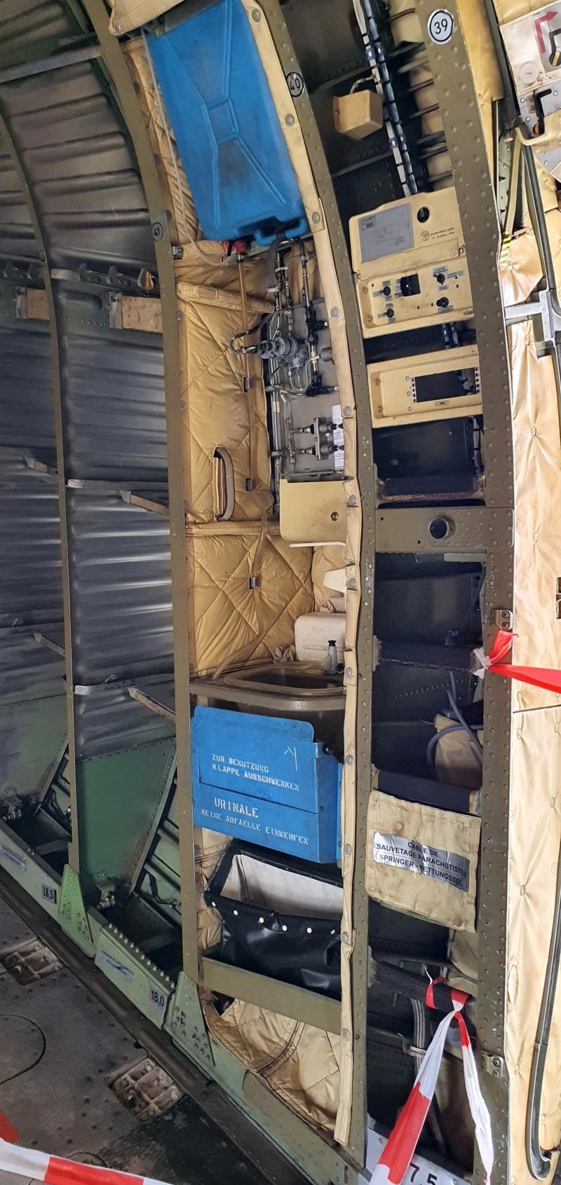 Transall C160 50+99 vom LTG 61 im Technikmuseum Speyer 20210821