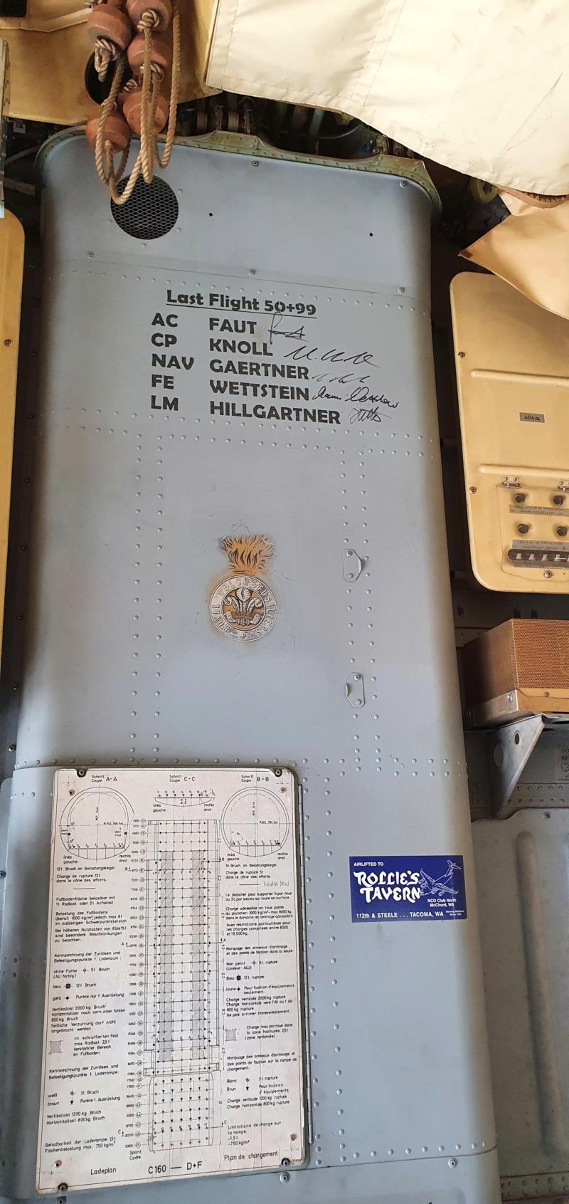Transall C160 50+99 vom LTG 61 im Technikmuseum Speyer 20210827