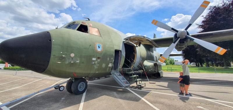 Transall C160 50+99 vom LTG 61 im Technikmuseum Speyer 20210835