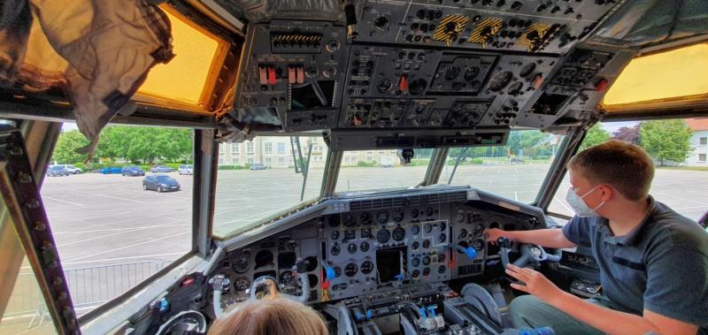 Transall C160 50+99 vom LTG 61 im Technikmuseum Speyer 20210870