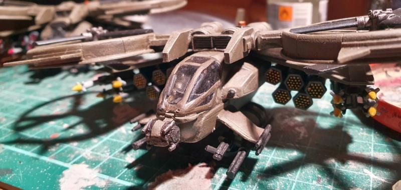 """Zwei AT-99 """"Skorpion"""" Gunships aus Avatar, 1:72 von Fantastic Plastic - Seite 2 20211114"""