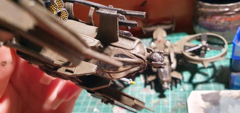 """Zwei AT-99 """"Skorpion"""" Gunships aus Avatar, 1:72 von Fantastic Plastic - Seite 2 20211116"""