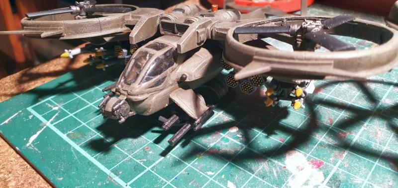 """Zwei AT-99 """"Skorpion"""" Gunships aus Avatar, 1:72 von Fantastic Plastic - Seite 2 20211118"""