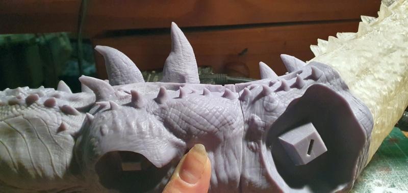 Emmerichs Gozilla von 1998, 1:250, Resin 3D Druck von Gambody 20211363