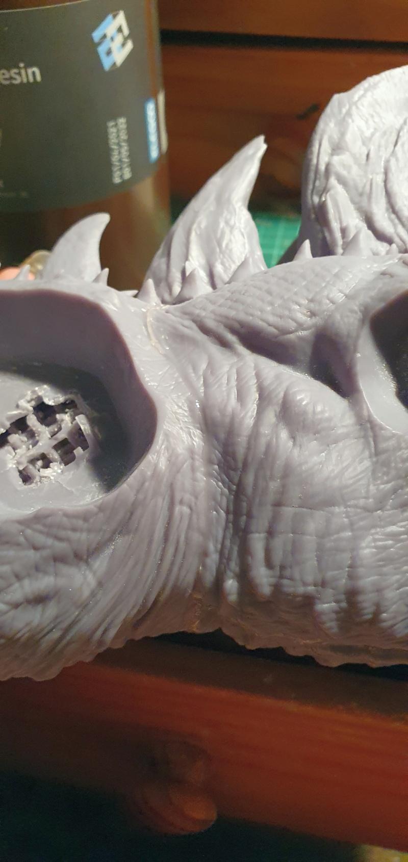 Emmerichs Gozilla von 1998, 1:250, Resin 3D Druck von Gambody 20211417