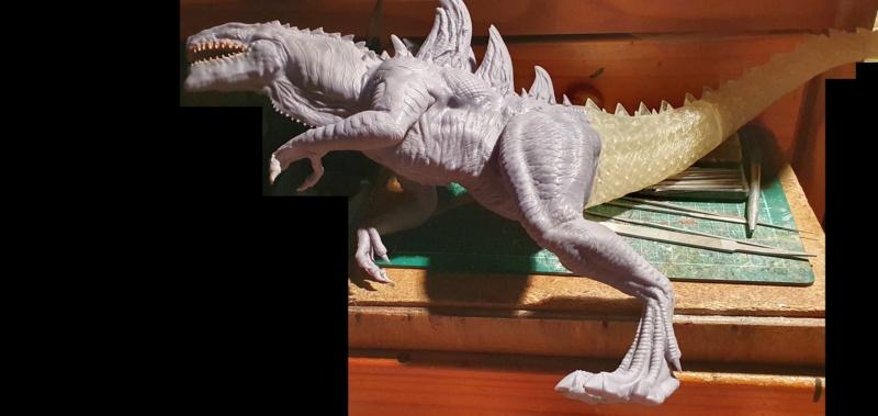 Emmerichs Gozilla von 1998, 1:250, Resin 3D Druck von Gambody 20211592