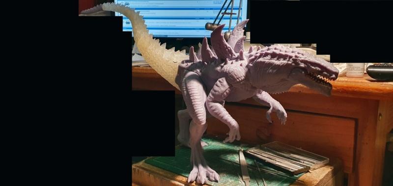 Emmerichs Gozilla von 1998, 1:250, Resin 3D Druck von Gambody 20211596