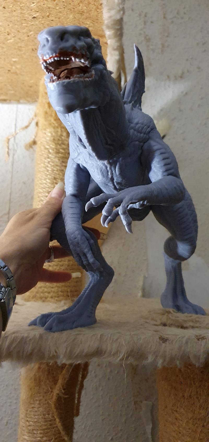 Emmerichs Gozilla von 1998, 1:250, Resin 3D Druck von Gambody 20211598