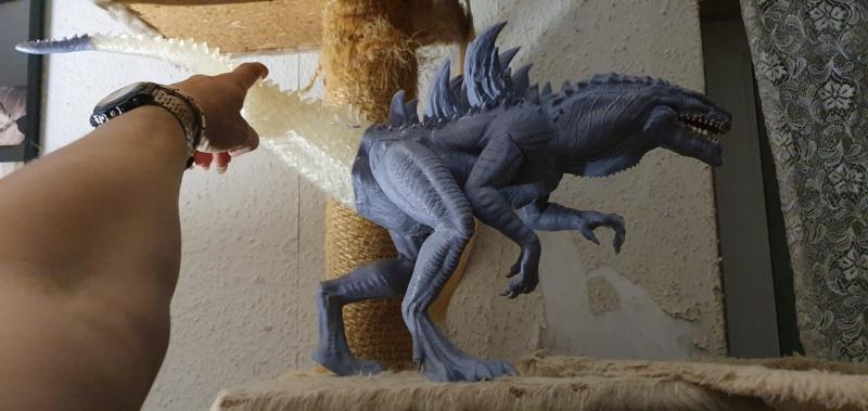 Emmerichs Gozilla von 1998, 1:250, Resin 3D Druck von Gambody 20211600
