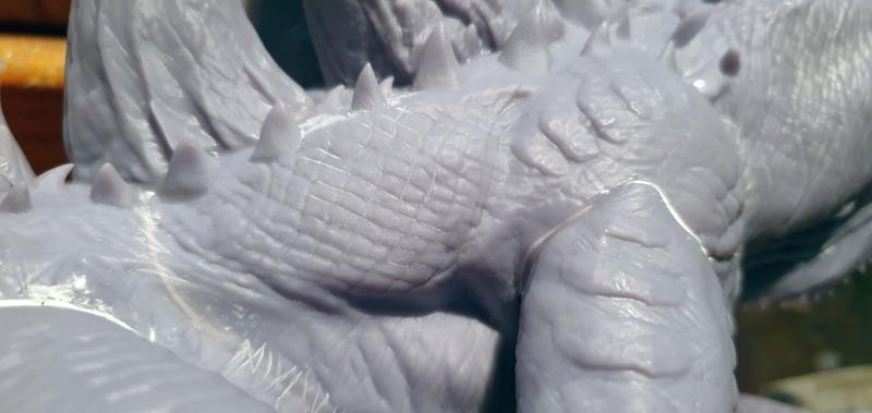 Emmerichs Gozilla von 1998, 1:250, Resin 3D Druck von Gambody 20211626