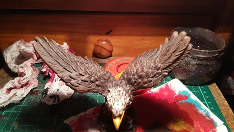 Amerikanischer Weißkopf Seeadler,  Dipinto A Mano / ohne Maßstab Img-2038
