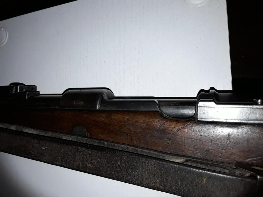 """98k S147 1936 sans marquage du """"Mod 98"""" 15542210"""