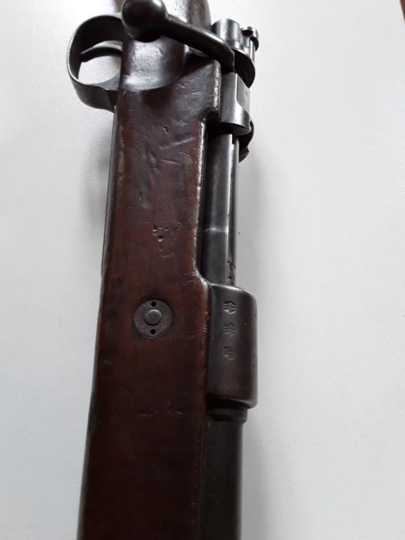 """98k S147 1936 sans marquage du """"Mod 98"""" 20190423"""