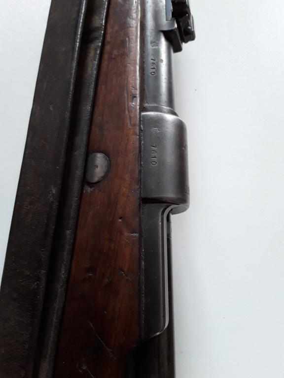 """98k S147 1936 sans marquage du """"Mod 98"""" 20190428"""
