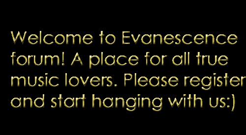 Evanescence Forum - Portal Aaakj10