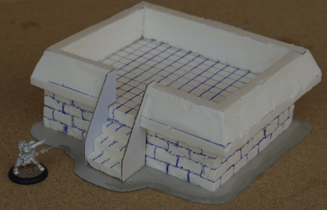Bouker ouvert Warmachine Bunker10