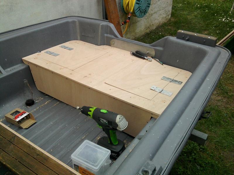 Réfection de ma barque Tabur yak IV 2011-012