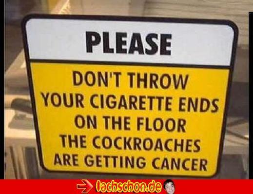 Witzige Schilder und Bilder! Cancer10