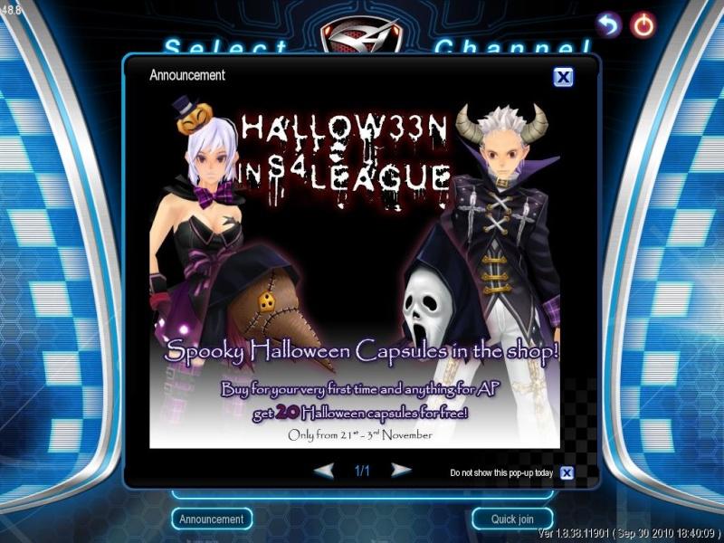 My S4 League Halloween Event