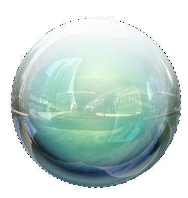 Créer une sphère 3D surréaliste avec Photoshop Cs5 Tutori26