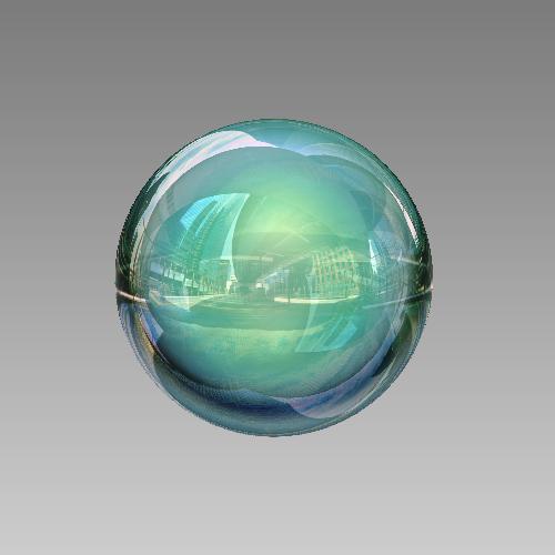 Créer une sphère 3D surréaliste avec Photoshop Cs5 Tutori33