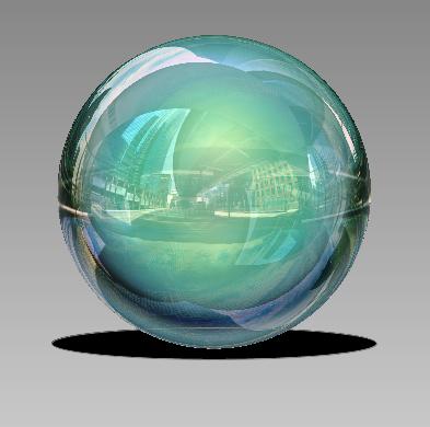 Créer une sphère 3D surréaliste avec Photoshop Cs5 Tutori34