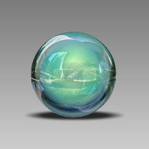 Créer une sphère 3D surréaliste avec Photoshop Cs5 Tutori37