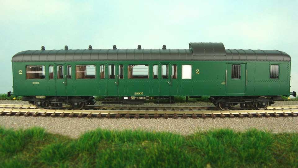 A vendre voiture L mixte 2Cl/Fourgon SNCB - TSO 3619 - époque IV Olaert10